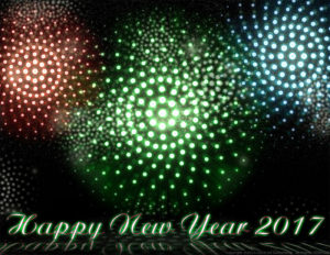 New Years 2017 Illustration