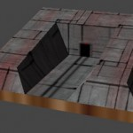 Low-Polygon Mine Model