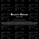 The official Reality Engine web site, including dynamically fading background logo